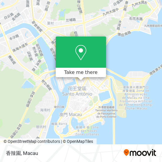 香辣園 map