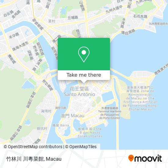 竹林川 川粵菜館 map