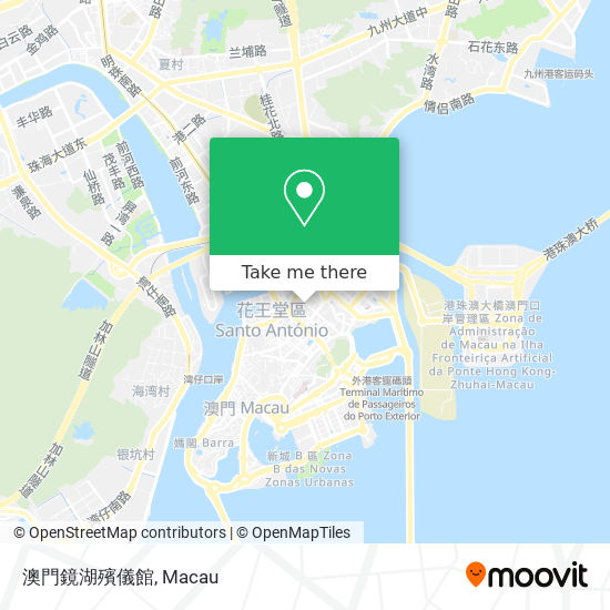 澳門鏡湖殯儀館 map