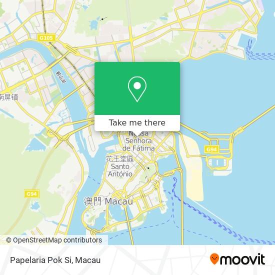 Papelaria Pok Si map