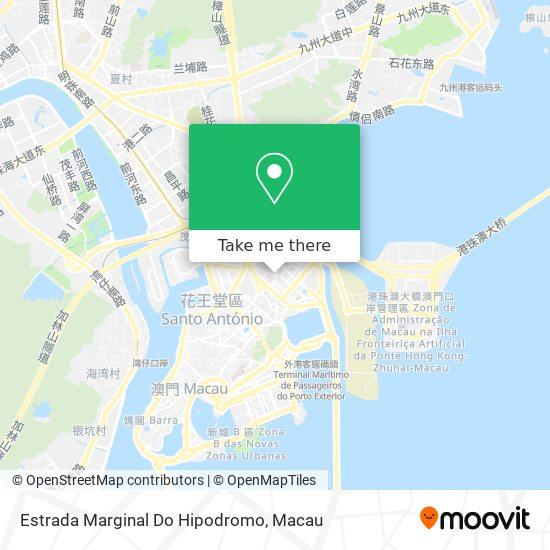 Estrada Marginal Do Hipodromo map