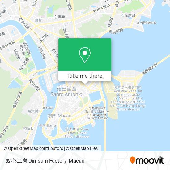 點心工房 Dimsum Factory map