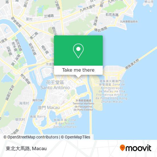 東北大馬路 map