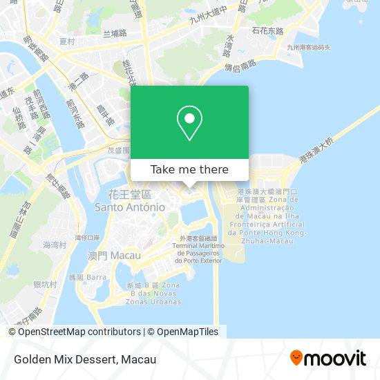 Golden Mix Dessert map