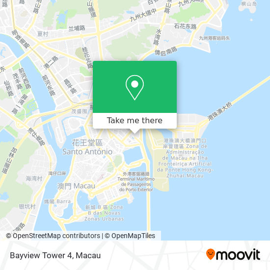 Bayview Tower 4 map