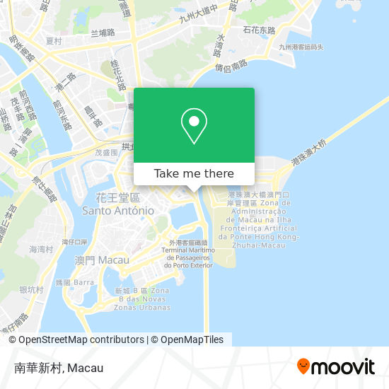 南華新村 map