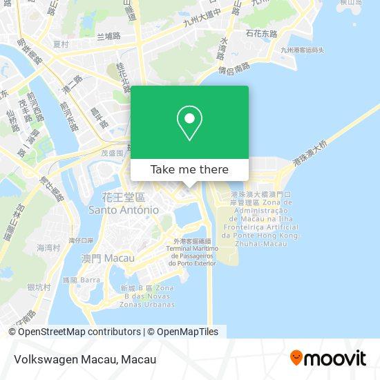 Volkswagen Macau map