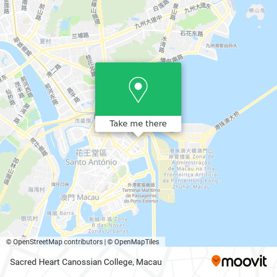 Sacred Heart Canossian College map