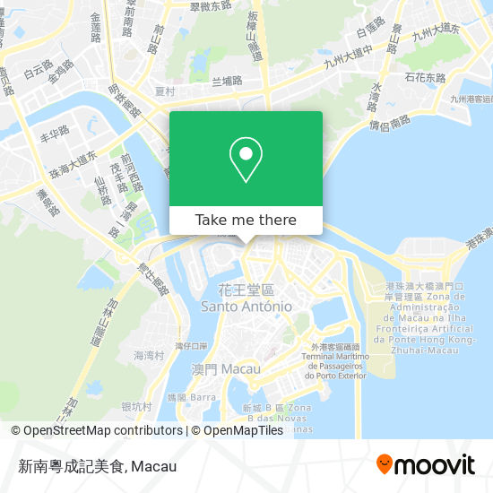 新南粵成記美食 map