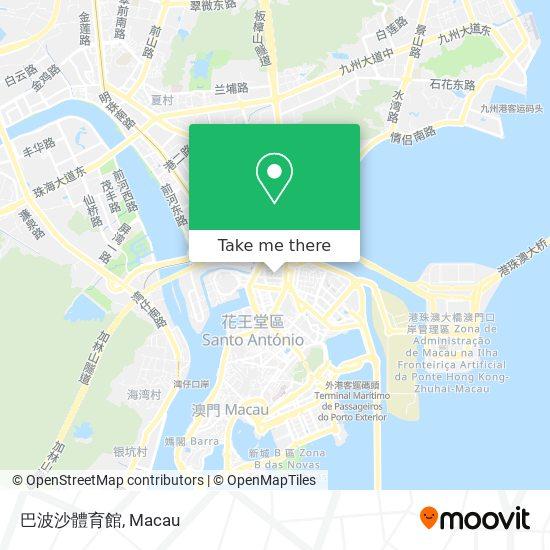 巴波沙體育館 map