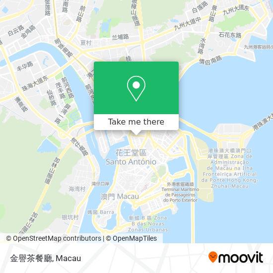 金譽茶餐廳 map