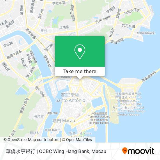 華僑永亨銀行   OCBC Wing Hang Bank map