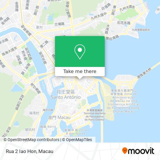 Rua 2 Iao Hon map