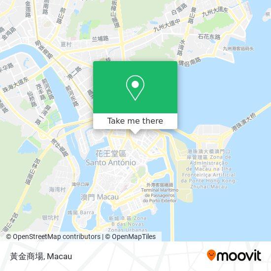 黃金商場 map