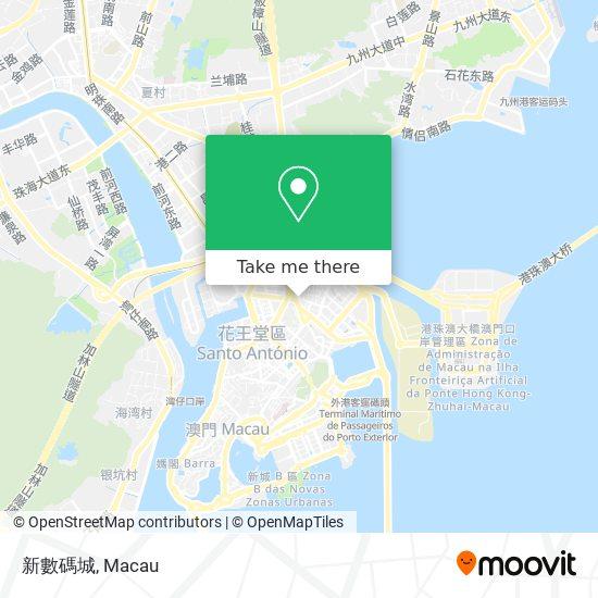 新數碼城 map