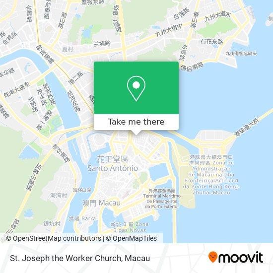 St. Joseph the Worker Church map