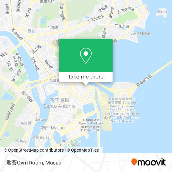君薈Gym Room map