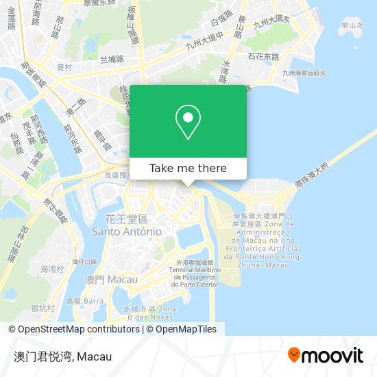 澳门君悦湾 map