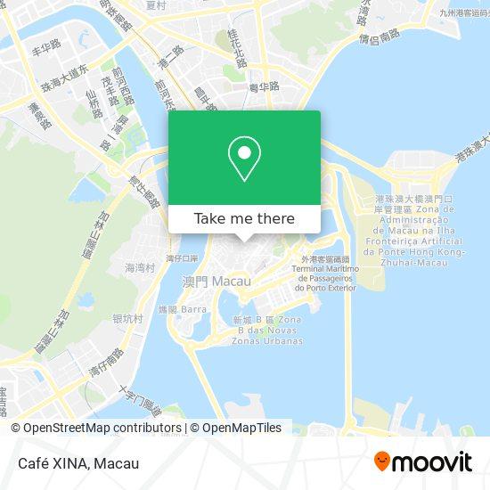 Café XINA map
