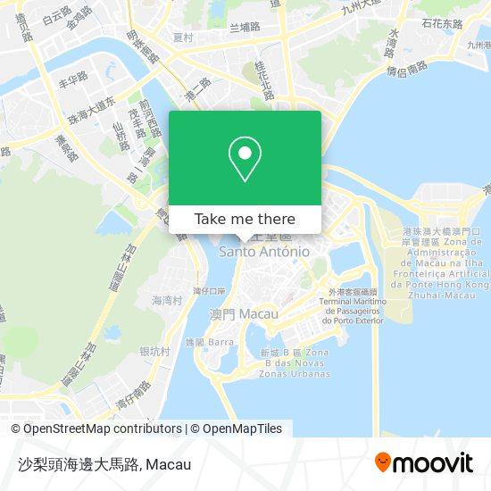 沙梨頭海邊大馬路 map