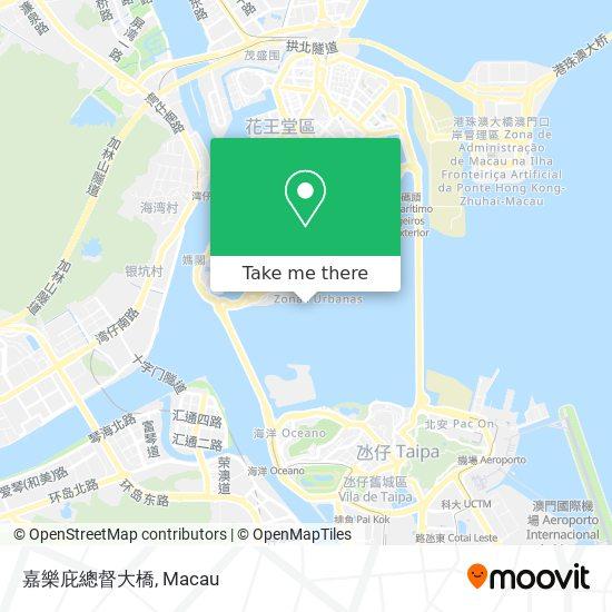 嘉樂庇總督大橋 map