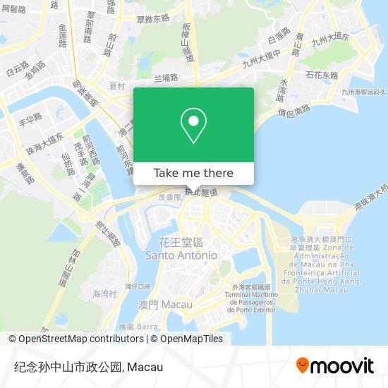 纪念孙中山市政公园 map