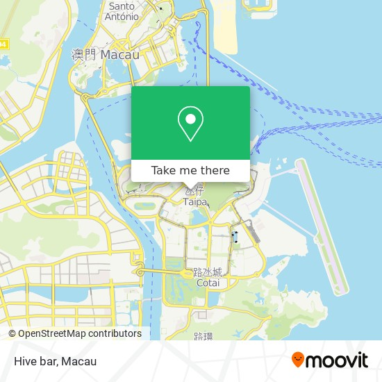 Hive bar map