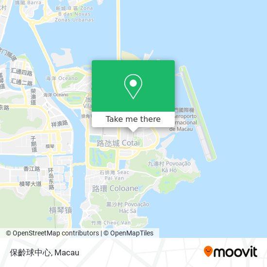 保齡球中心 map