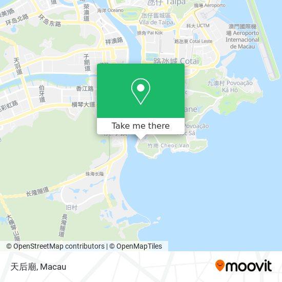天后廟 map