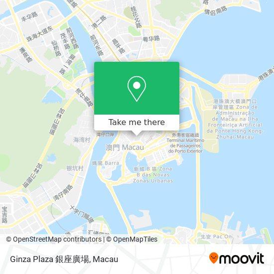 Ginza Plaza 銀座廣場 map