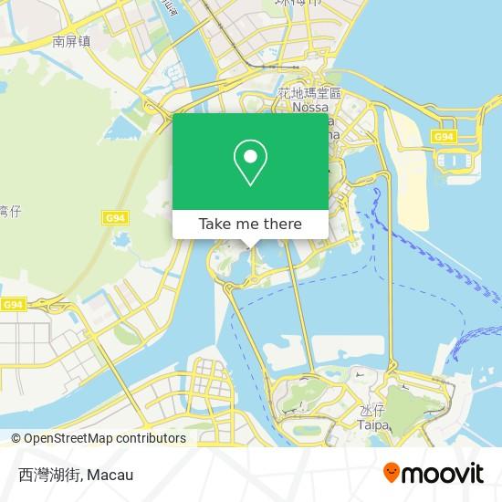 西灣湖街 map