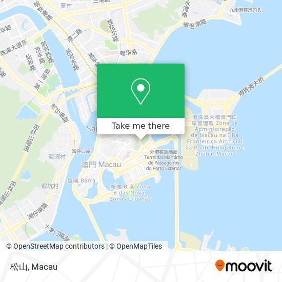 松山 map