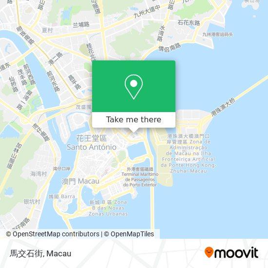 馬交石街 map