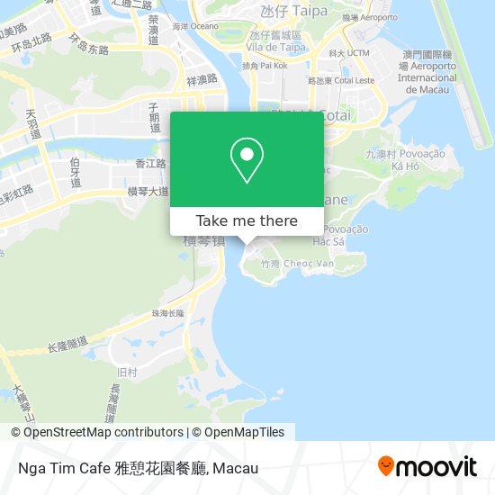 Nga Tim Cafe 雅憩花園餐廳 map