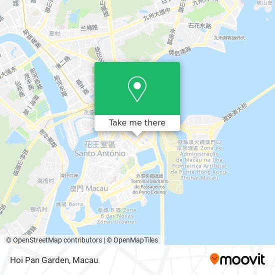Hoi Pan Garden map