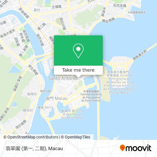 翡翠園 (第一, 二期) map