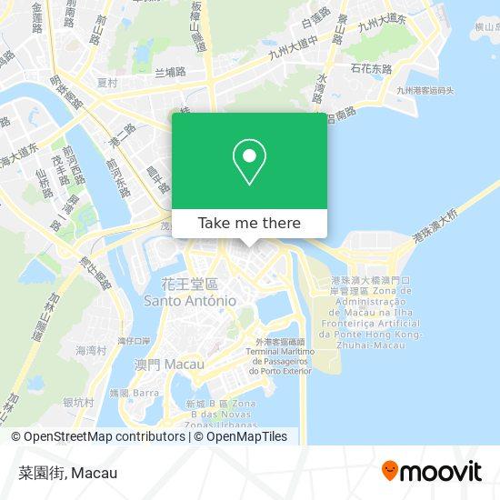 菜園街 map