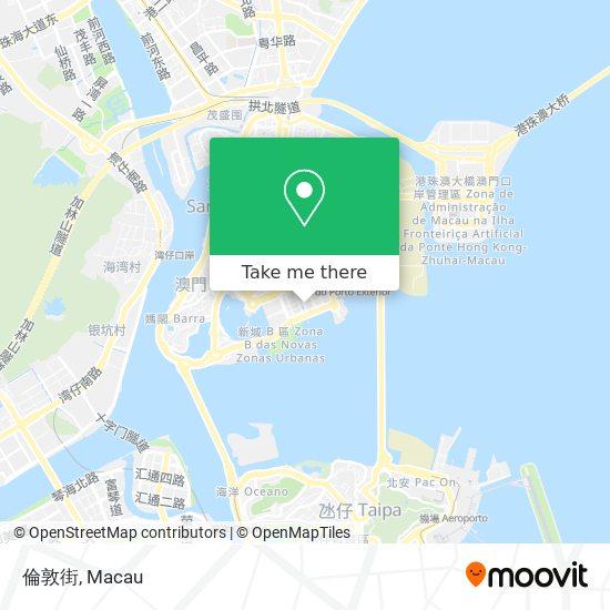 倫敦街 map