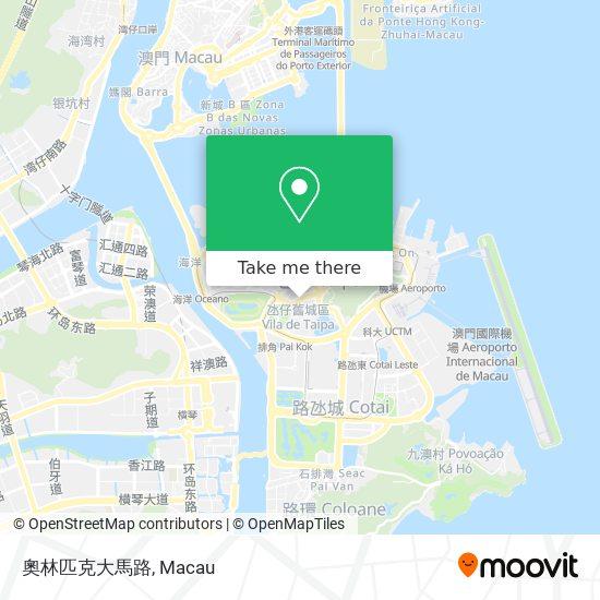 奧林匹克大馬路 map