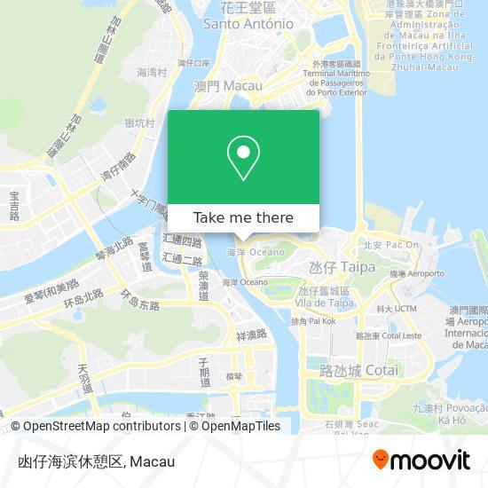 凼仔海滨休憩区 map
