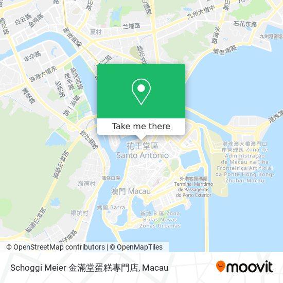 Schoggi Meier 金滿堂蛋糕專門店 map