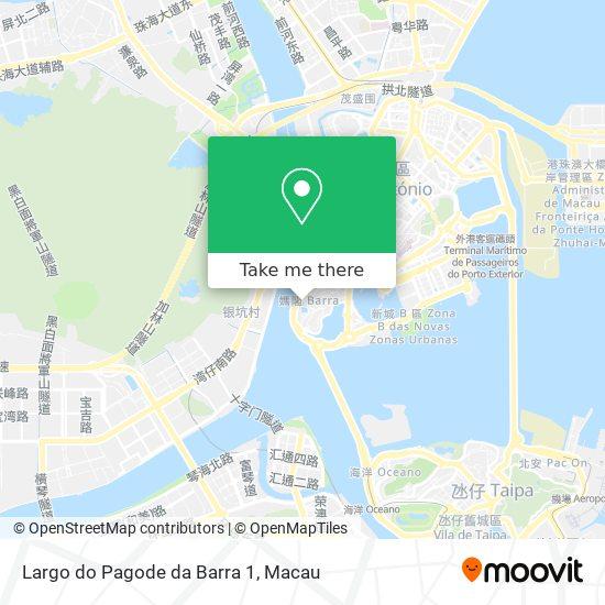 Largo do Pagode da Barra 1 map