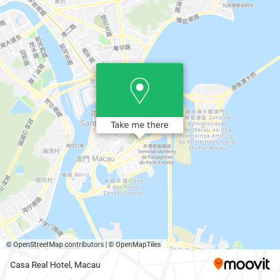 Casa Real Hotel map