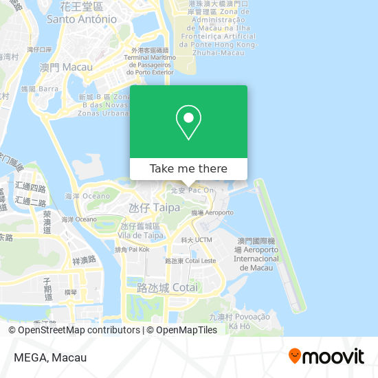 MEGA map