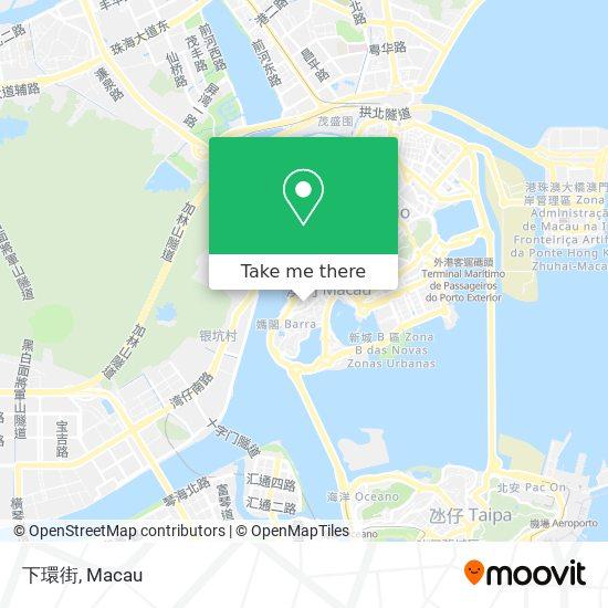 下環街 map