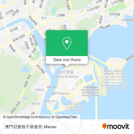 澳門召會筷子基會所 map
