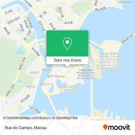 Rua do Campo map