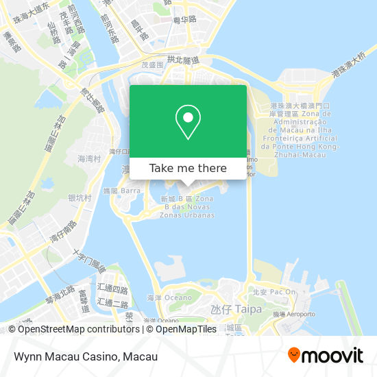 Wynn Macau Casino map