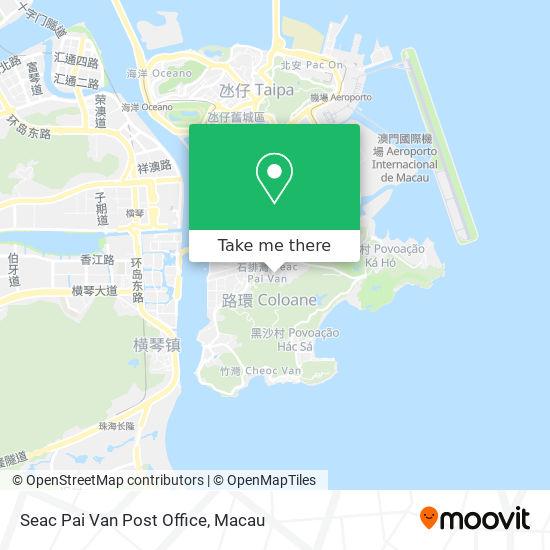 Seac Pai Van Post Office map