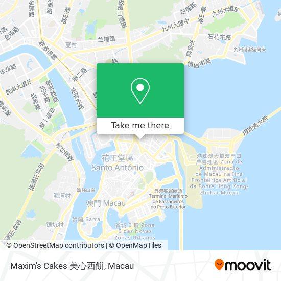 Maxim's Cakes 美心西餅 map
